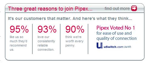 Pipex - Terrible Service - False Claims
